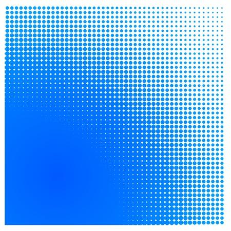 color tone: Halftone square