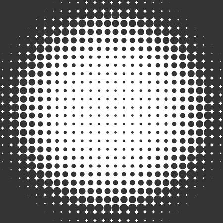 Halftone circle gradient Stock Photo - 10071969