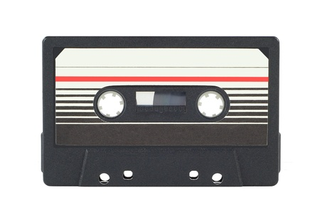 cassette tape: Audio cassette Stock Photo