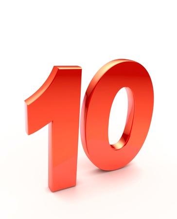 numero diez: diez