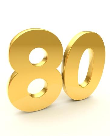 achtzig: 80 goldene Lizenzfreie Bilder
