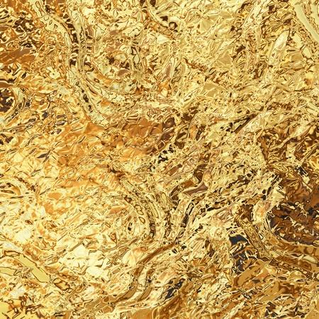 golden foil texture Stock Photo - 10072126