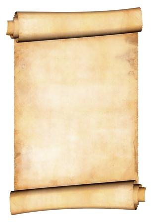 Antikes Papier blättern Standard-Bild
