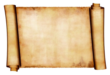 parchment scroll: Antique paper scroll