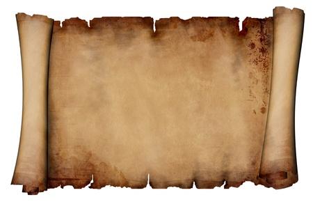 Paper scroll  photo