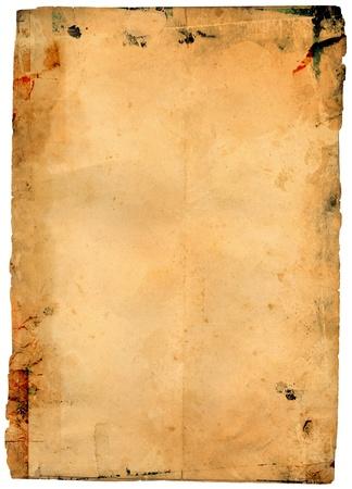 burnt paper: old paper texture