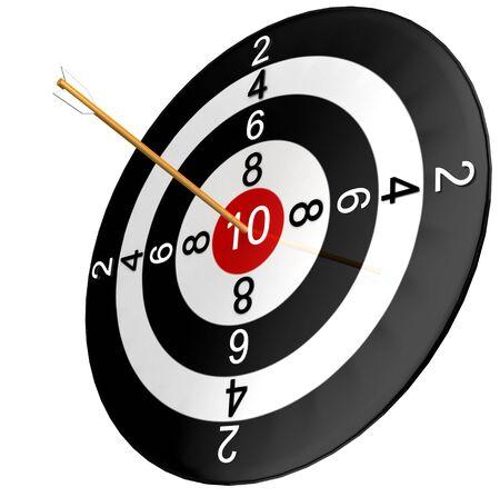 competitividad: similar con flecha aislado en fondo blanco