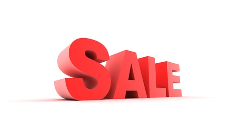 attention grabbing: Sale Stock Photo