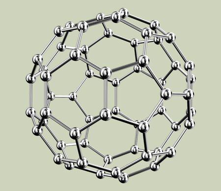 nano: Model of molecule