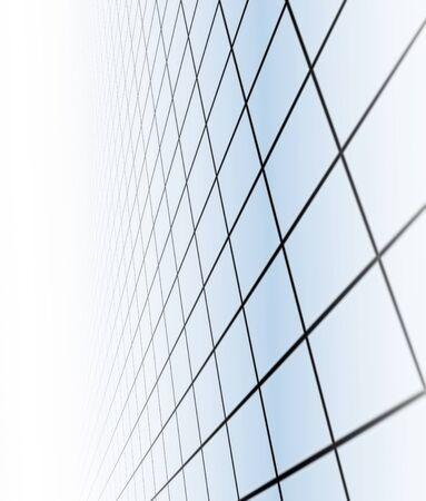 big boxes: geometric background Stock Photo