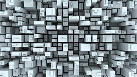 mega city: Abstract city