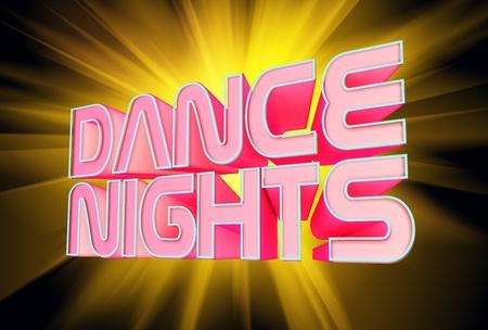 dancefloor: Dance Nights Stock Photo