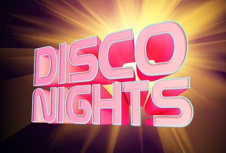nights: Disco Nights Stock Photo