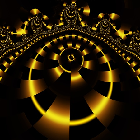 hidef: style fractal Stock Photo