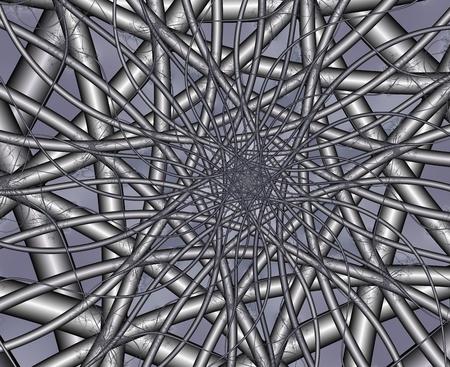motor neuron: fractal