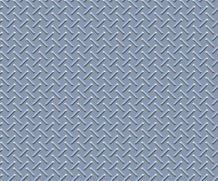 pisan: textura de metal (placa de diamante) Foto de archivo