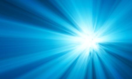 青いフレア 写真素材