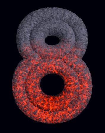 erupt: Hot metal number