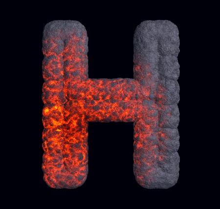 hot surface: Hot metal font