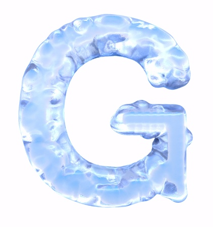 Ice Font  photo