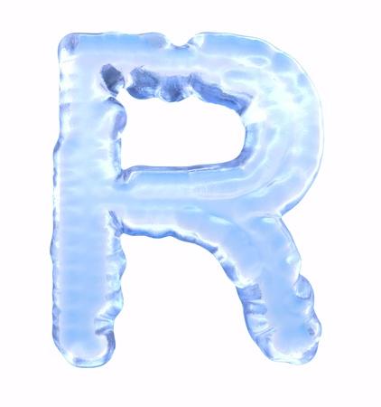 Ice Font  photo