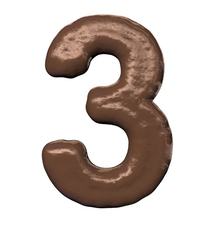 Chocolate Number  photo