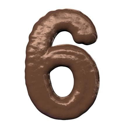 Chocolate Number  photo