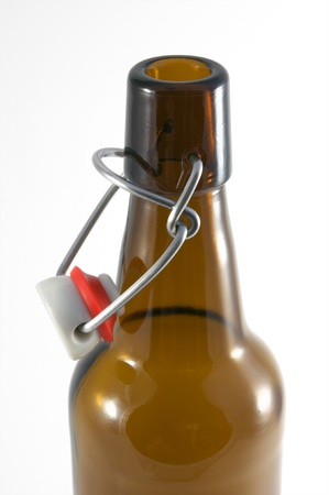 closure: beer bottle with swing top closure  Stock Photo