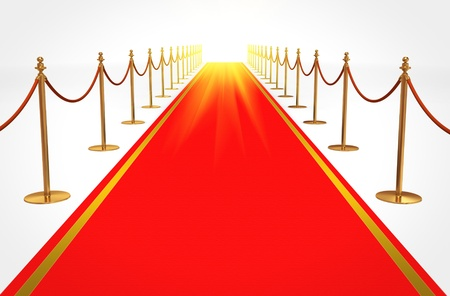 Red carpet to success Stock Photo - 10278860