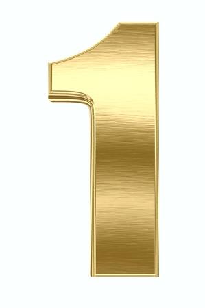 Yellow metal number