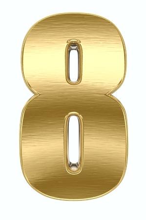 Nombre métal jaune