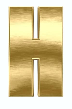 Golden font  photo