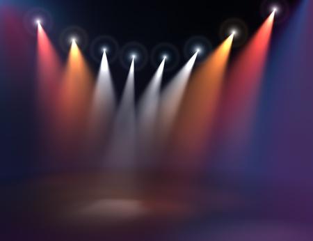 illumination: Iluminaci�n del escenario Foto de archivo