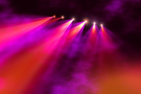Stage illumination photo