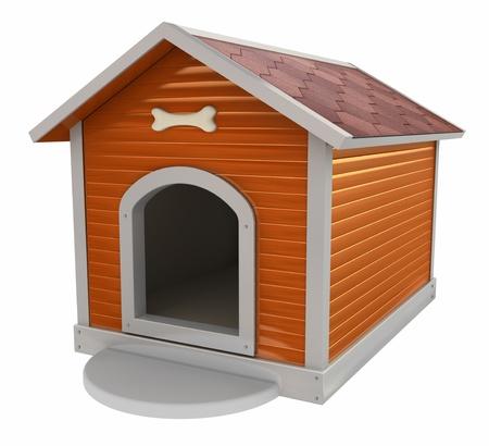 Hundehütte Standard-Bild