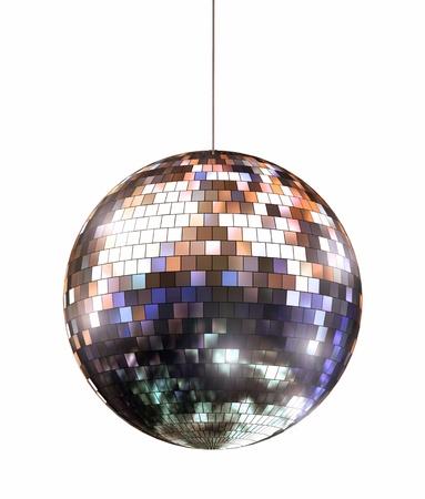 mirror ball: Disco ball Stock Photo