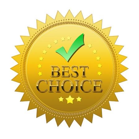Best Choice seal photo