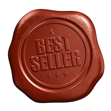 wax sell: Best seller - seal stamp Stock Photo
