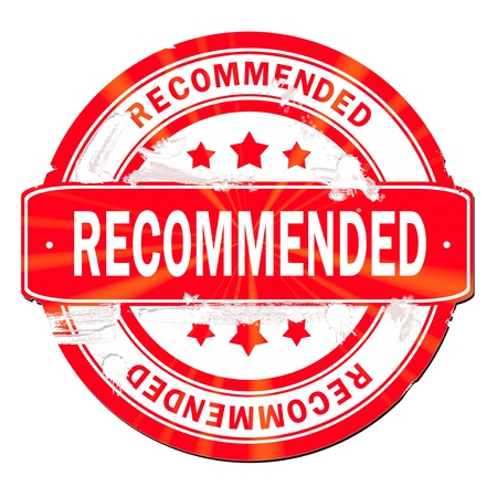 recommend: Recommended stamp