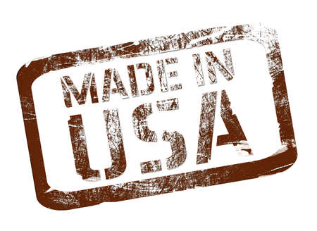 made in usa: Made in USA stamp