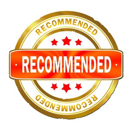 best seller: Recommended stamp