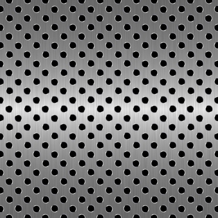 perforated metal photo