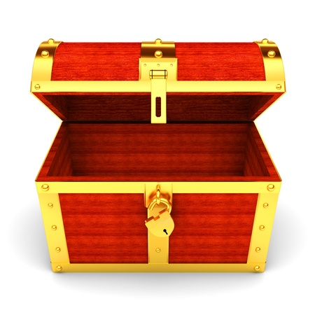 coffer: treasure chest