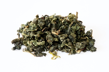 oolong: oolong green chinese tea Stock Photo