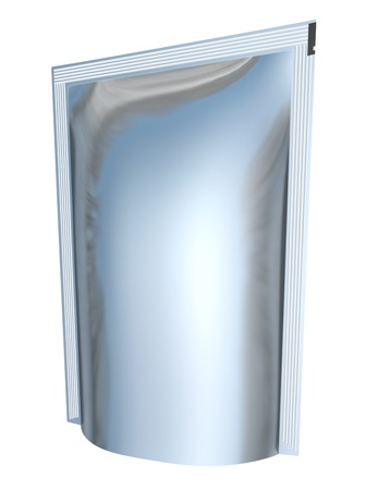 Blank foil packaging  ready for your design Stock Photo - 12866376