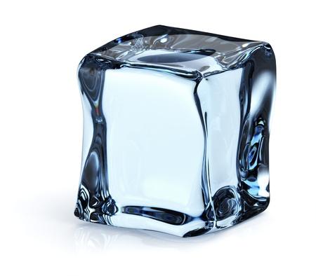 cubos de hielo: cubito de hielo