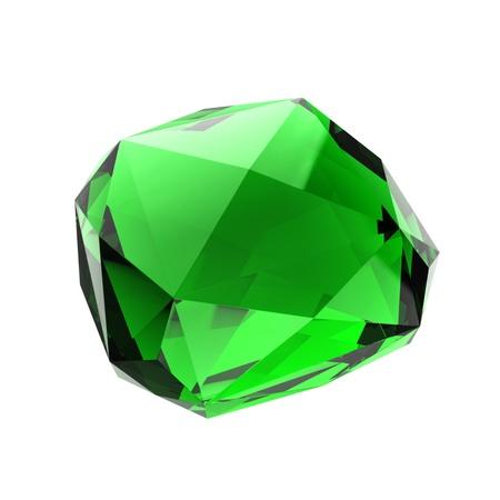 green gemstone: Crystal