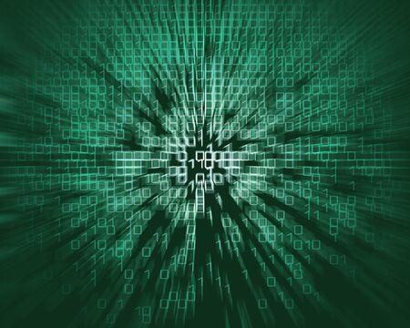 bytes: matrix style background