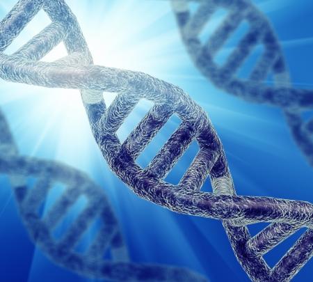 Illustration of DNA strand illustration