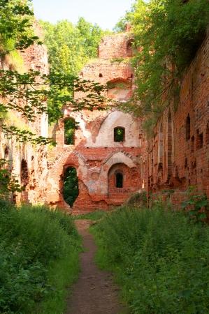 teutonic: Balga - rovine del castello medievale dei cavalieri teutonici. Regione di Kaliningrad, Russia